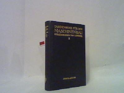 Taschenbuch für den Maschinenbau, band 2