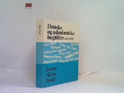Danske og udenlandske bogtitler efter 1914