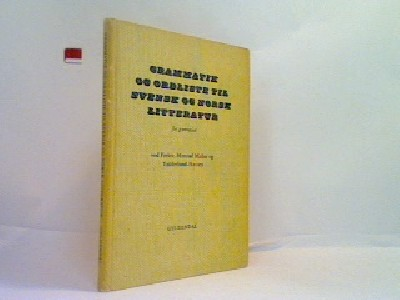 Grammatik og ordliste til svensk og norsk litteratur
