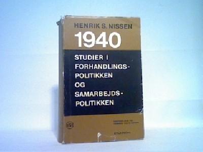 1940- studier i forhandlingspolitikken og samarbejdspolitikken